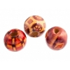 Wooden Bead Round 11mm Mixed Pattern & Color